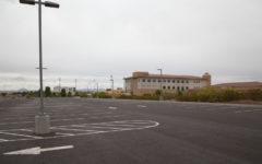 Burrell College's recent parking lot expansion.