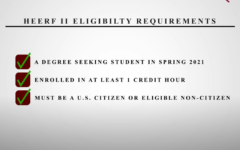 NMSU students are eligible to apply for emergency financial aid from the HERFFII fund.