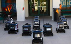 NMSU introduces Kiwibots as a new on-campus delivery service more accessible to students.