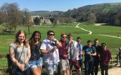 Selema Graham and her fellow classmates are touring England back in April 2018.