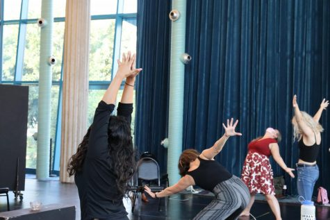 Rehearsals for the fall theatre season are underway
