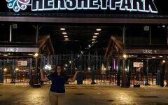 Fisher's internship at HERSHYPARK!