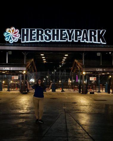 Fishers internship at HERSHYPARK!