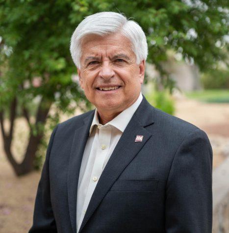 New Mexico State University Chancellor Dan Arvizu.