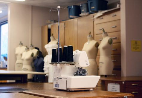 NMSU Sewing Lab. NMSU began its partnership with the National Retail Federation Foundation this year.